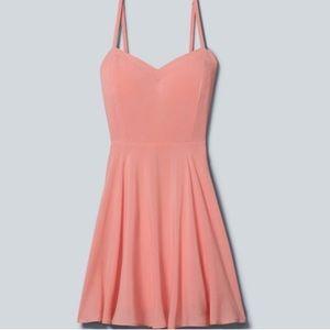 Aritzia Talula Lapinski Peach Dress